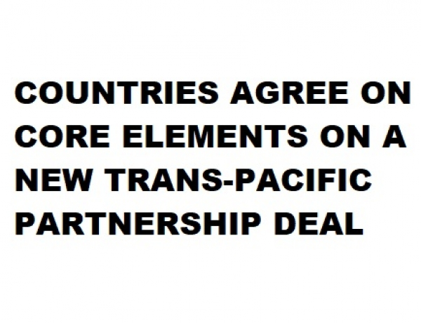 Core Elements of TPP Deal Complete