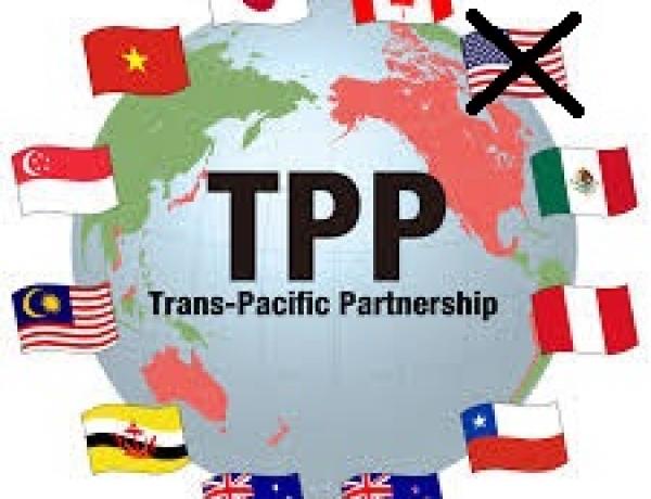 TPP Moving Ahead… Sans USA