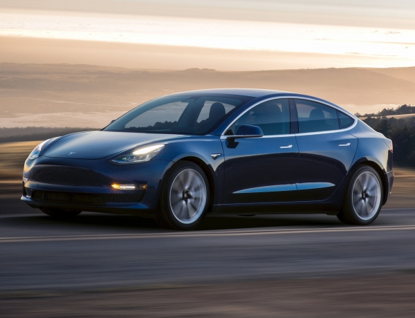 Tesla Shares Up on Production Increase