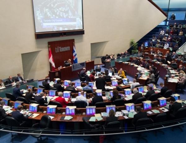 Toronto's Court Council Battle