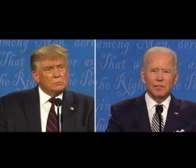 Interruptions & Name Calling Plague U.S. Presidential Debate