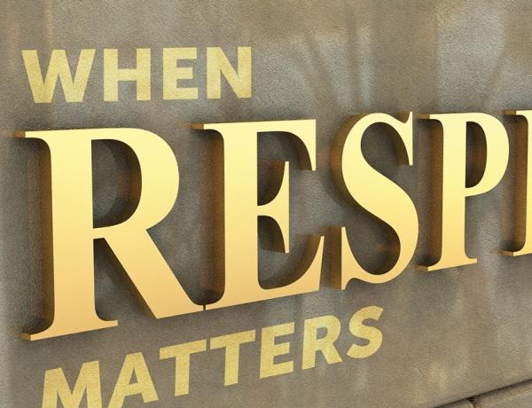When Respect Matters