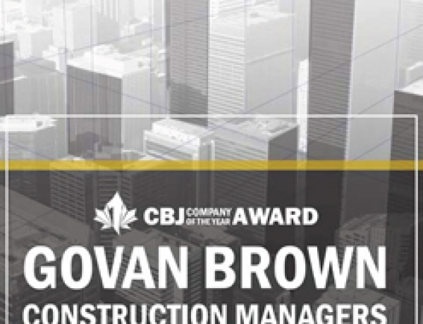 Company of the Year – Govan Brown Construction Managers