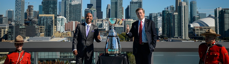 The Canadian Football League – Jeffrey Orridge Discusses Year 2 In the Commissioner's Office