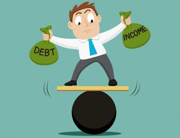 Debt-to-Income Ratio Improves