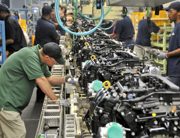Factory Sales up 1% in March