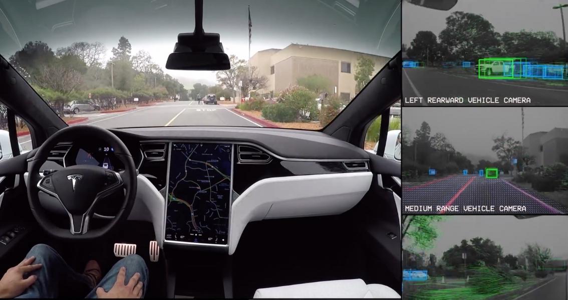 Tesla Shares Up Despite Record Losses