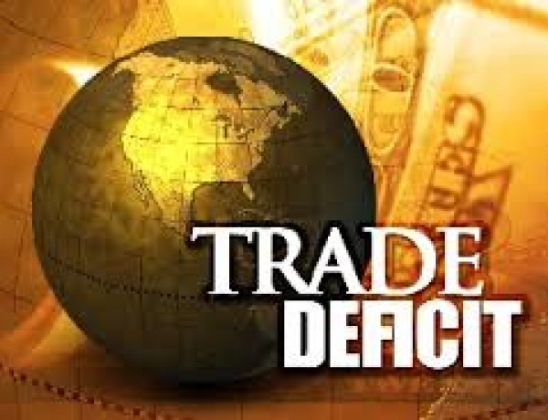 Trade Deficit Down in July